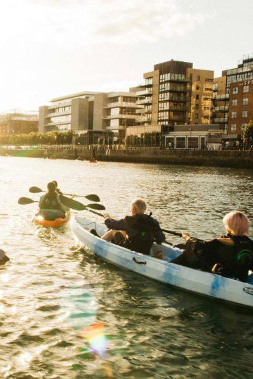 City Kayaking dublin experience planner